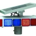 道路护栏底座配件 太阳能一体式爆闪灯