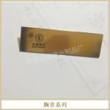 胸章系列金属徽章定制 企业logo金属胸章胸牌定做金属勋章制作工厂