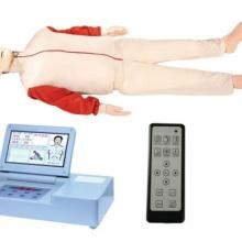 豪華大屏幕液晶彩顯高級自動電腦心肺復蘇模擬人(RF遙控器)圖片