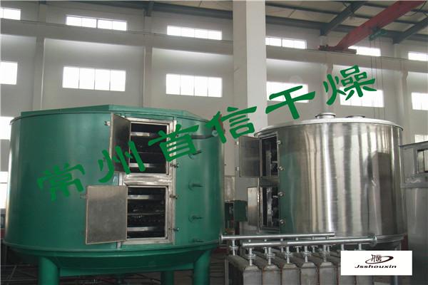 三元锂电池连续式盘式干燥机 三元锂电池连续式盘式干燥机生产线