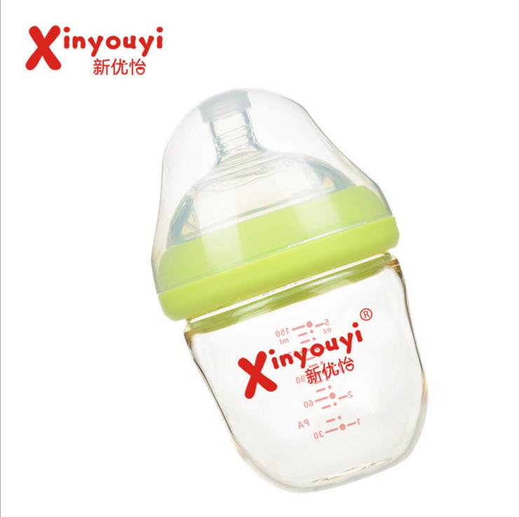 创意款一阶段宝宝广口pa进口材质奶瓶耐高温防胀气新优怡产地货源 创意款奶瓶 婴儿奶瓶生产厂家 厂家直销婴儿奶瓶