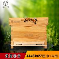益精蜂箱牌中标十框标准巢箱蜂具 蜂箱 蜜蜂 中蜂 养蜂具厂家直销