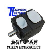 供应YUKEN双联高压泵日本油研PV2R3-52-F-RAA-31单高压定量叶片泵