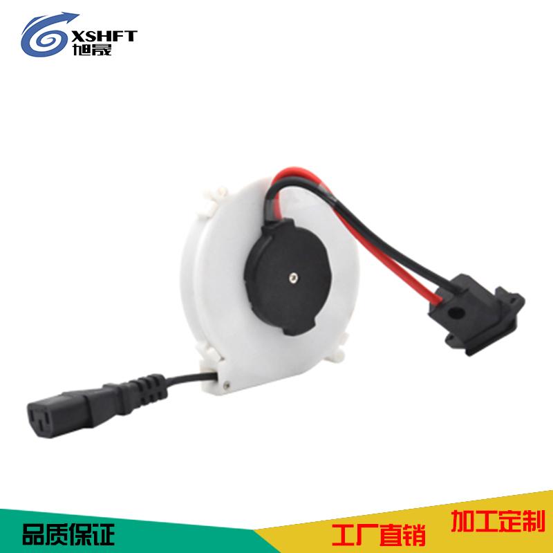 电动车自动卷线盘接线插座0702充电线电瓶车电源线延长线YSH-0702-3C-充电款
