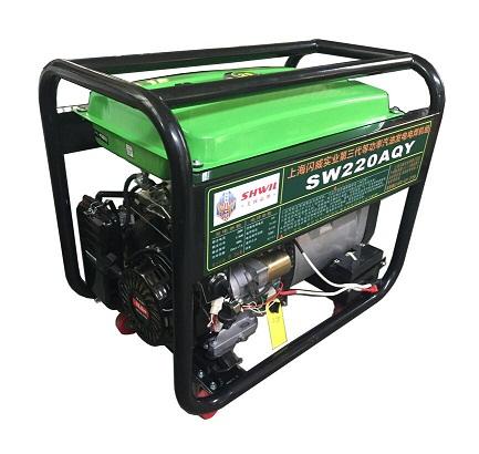 220A汽油发电电焊机的焊接时间