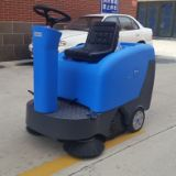 容恩R-QQS驾驶式扫地机工厂物业用电瓶式工业扫地车道路清扫车