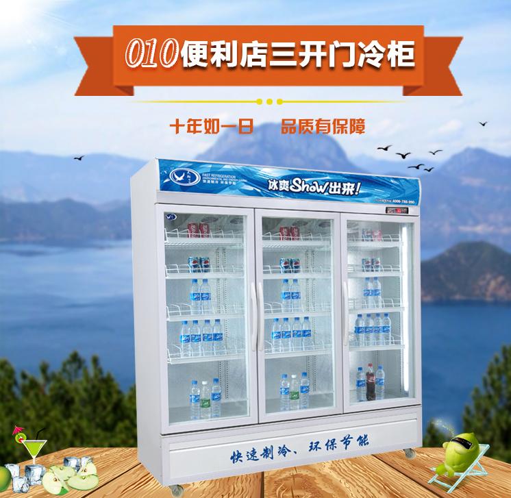 广州便利店三门展示柜图片/广州便利店三门展示柜样板图 (3)