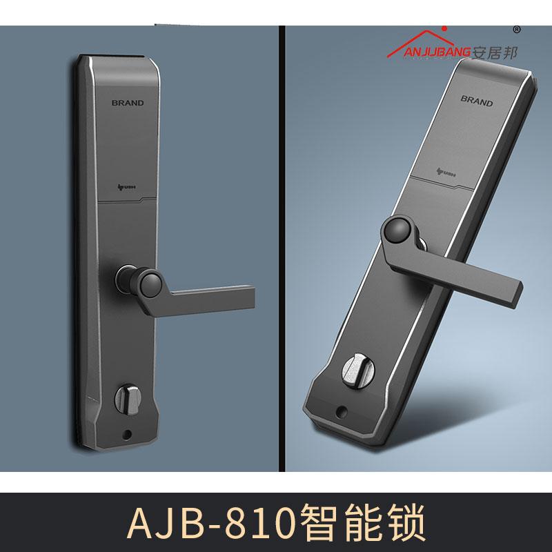 厂家密码智能锁电子锁防盗门家用 AJB-810智能锁