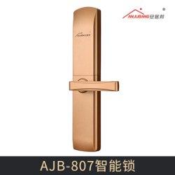 广州市AJB-807智能锁厂家AJB-807智能锁 新品304不锈钢公寓锁智能锁电子感应门锁