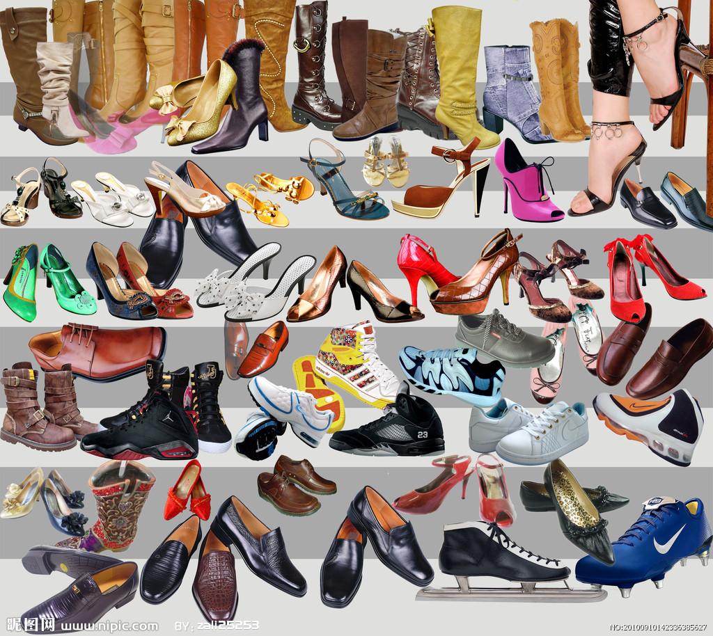 鞋子 高跟鞋 平底鞋 运动鞋 出口报关 男鞋 女鞋 运动鞋高跟鞋出口报关