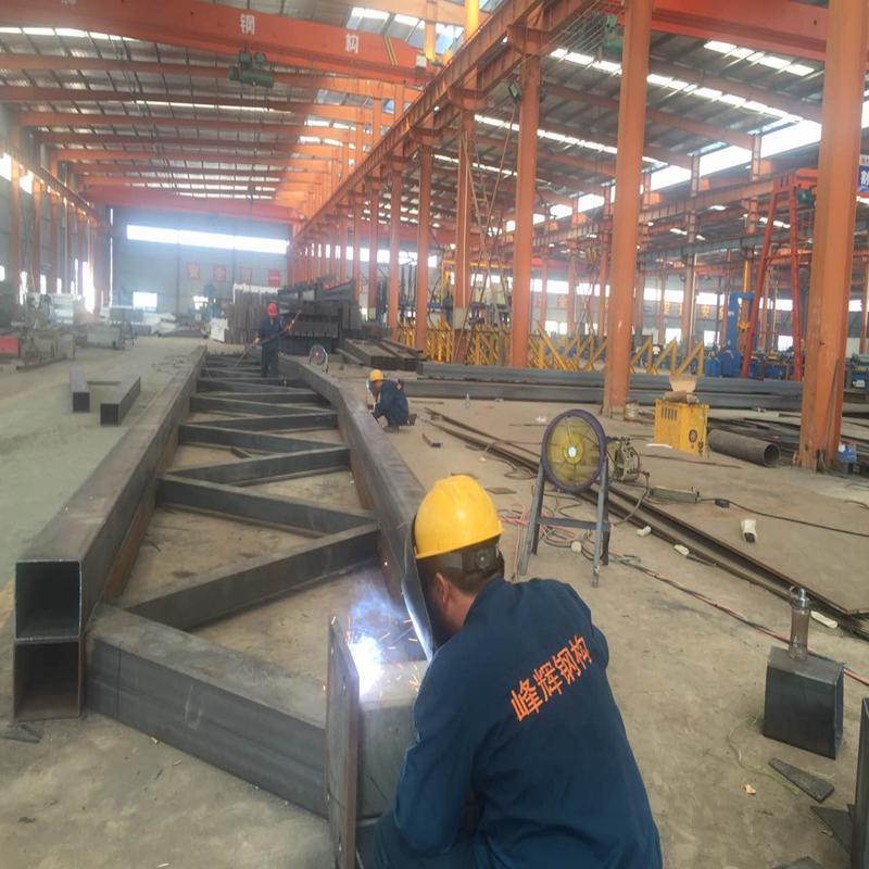 峰辉钢结构管桁架钢材批发直销峰辉钢材