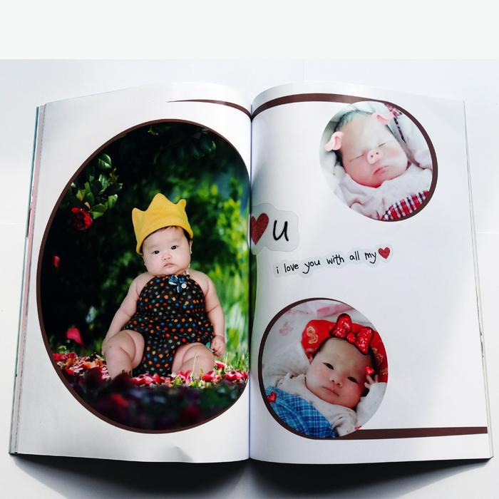 手机照片定制照片书班级毕业纪念册DIY个性定制生日礼物
