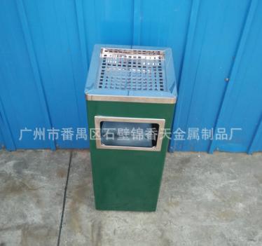 正方形钛金烟灰桶 钛金立式烟灰桶 钛金烟灰桶定制