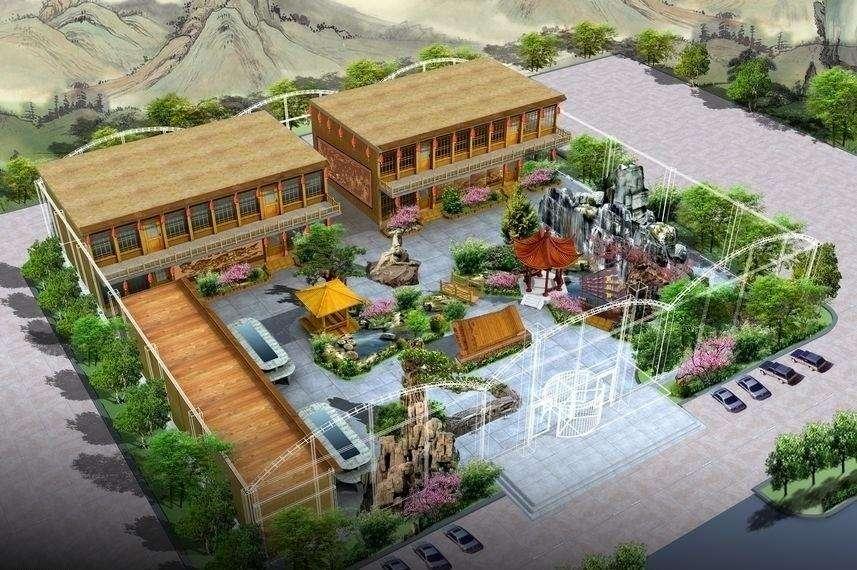 佳木斯生态园雕塑生态园酒店餐厅景观雕塑