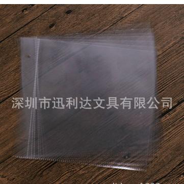 pp2层2孔透明内页袋·卡包内芯相片袋·pp相册内页袋