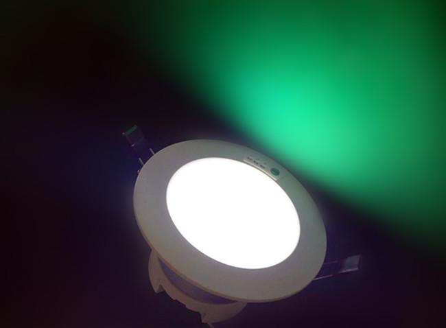 一体化LED筒灯应急灯,LED应急筒灯3W5W8W3小时外贸出口应急灯