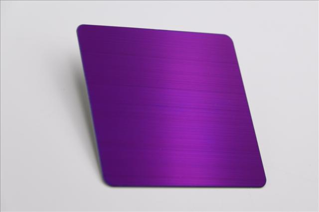 304拉丝紫罗兰不锈钢板