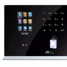 重庆中控TA700人脸识别考勤机 面部识别 指纹打卡机 网络TCP+U盘功能
