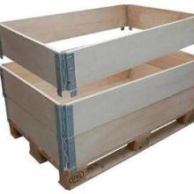 上海青浦围板箱托盘欧标围板箱厂家实木围板箱供应商直销价格优惠批发