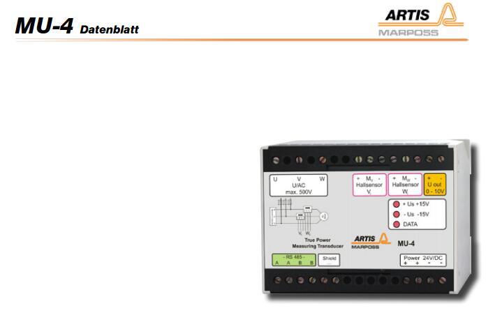 ARTIS传感器DTA-1-DP/S