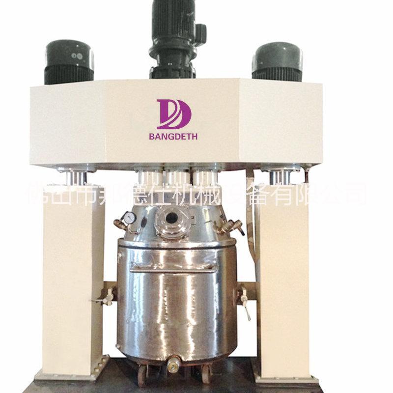 中空玻璃胶成套生产设备 、玻璃胶专用设备、广州强力分散机