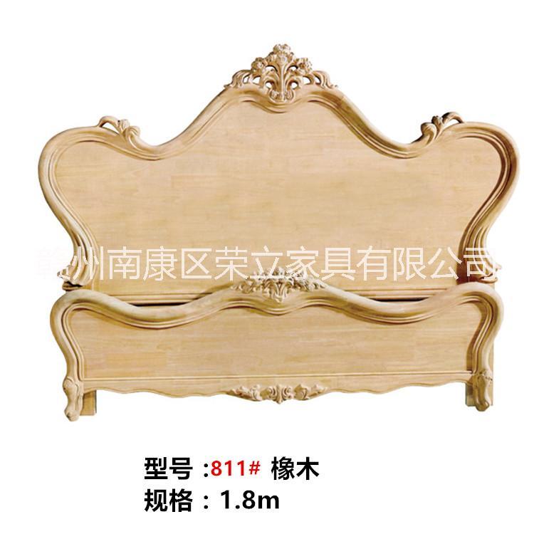江西白胚橡木床头床尾 15170766692 白胚床头床尾厂家直销  床头床尾供应商   白胚床头床尾