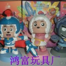 供应卡通人物、动漫玩具、搪胶公仔  卡通人物搪胶玩具图片