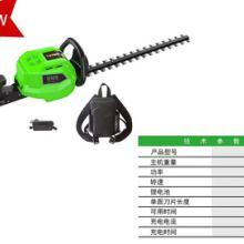 充电式电动绿篱机家用草坪剪园林园艺锂电修剪机批发