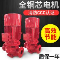 消防改造使用多大泵 消火栓泵 XBD3.8/20G-L 全铜线电机  不锈钢叶轮及轴 喷淋泵