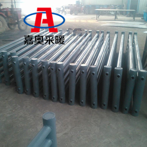 工业车间蒸汽a型b型光排管散热器暖气片批发厂家|嘉奥采暖|