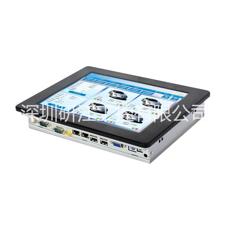 10.4寸高性价比XP工控一体机宽温宽压车载工业平板电脑