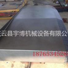 伸缩钢板防护罩机床钣金,加工中心钢板防护罩批发