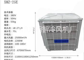 太原湿帘变频器冷风机图片