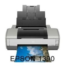 热转印打印机 1390 A3打印机 爱普生Epson 1390 A3+喷墨打印机 热转印打印机1390A3打印