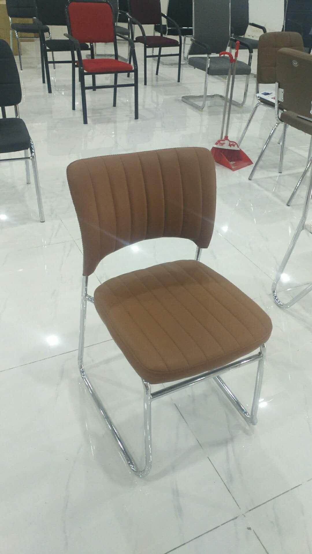 廊坊皮革椅供应商   现代  时尚简约   办公皮革椅 棕皮革椅