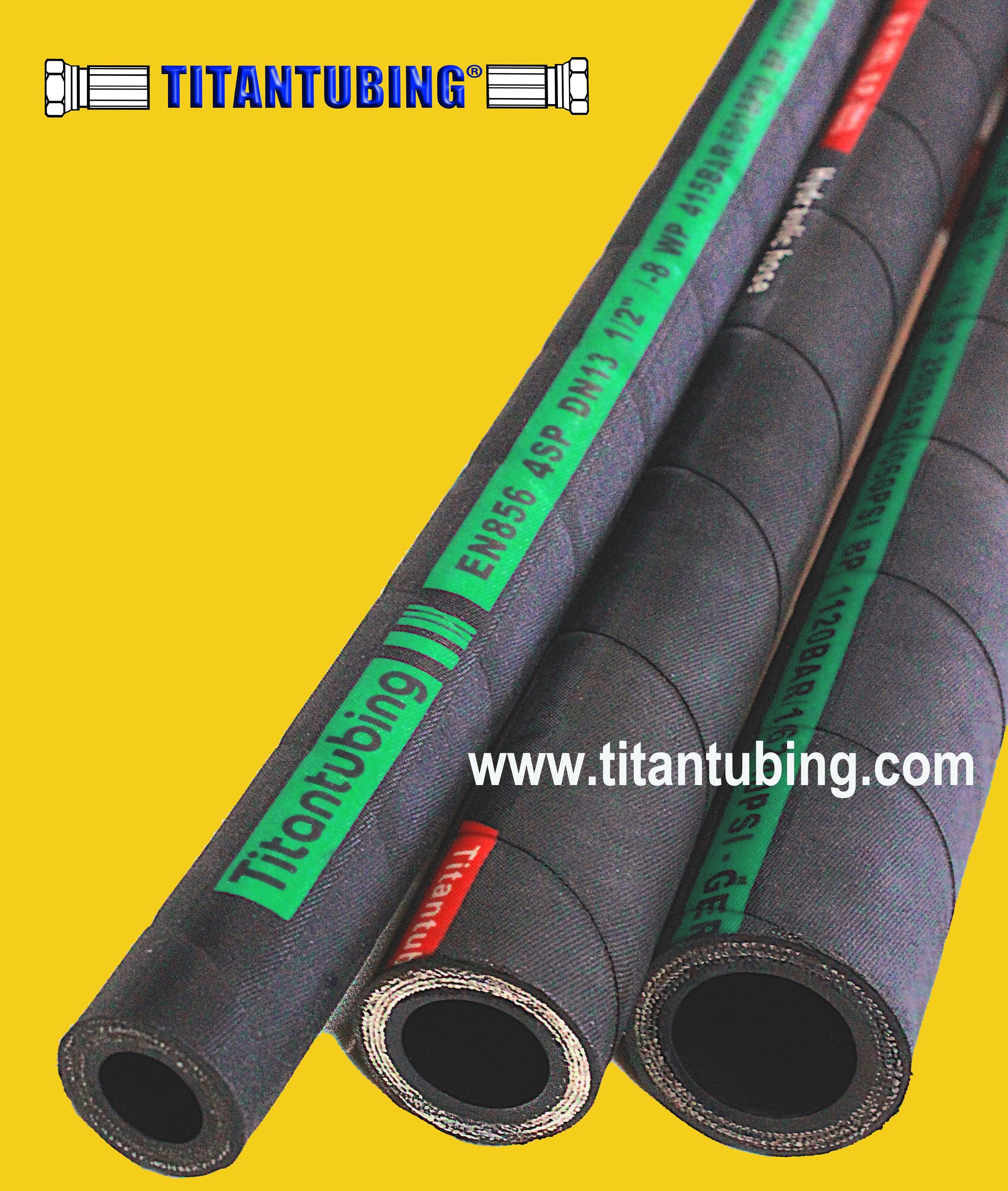 多用途胶管 液压胶管 钢丝缠绕管 EN853 1SN/SAE100 燃油管 空气管  高压油管 钢丝缠绕胶管