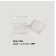 8150B正方形翻盖2色眼影盒图片