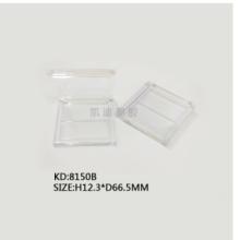厂家直供可定制翻盖腮红盒 8150B正方形翻盖2色眼影盒