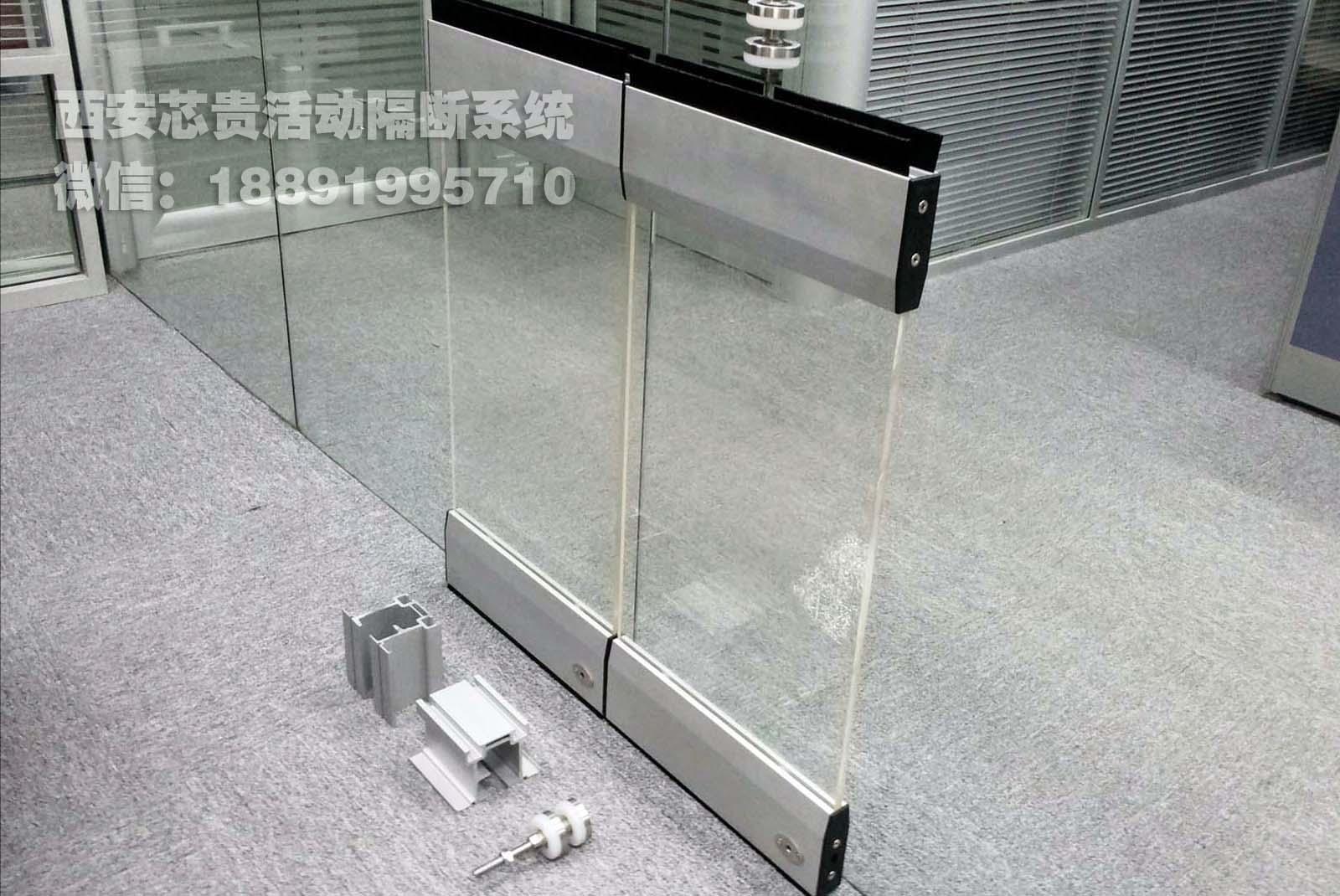 透明玻璃隔断