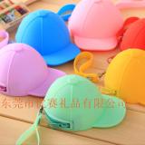 时尚潮流棒球帽立体硅胶零钱包糖果创意硬币包 拉链口收纳包厂家 时尚收纳包