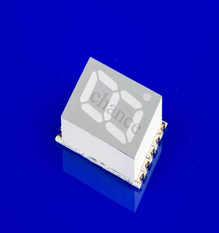 超薄贴片数码管,高亮/环保,0.51英寸贴片数码管,单八显示数码管,发光管