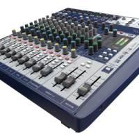 声艺Signature 12 Soundcraft调音台 12路带声卡多轨USB界面模拟调音台 声艺舞台婚庆会议多功能混