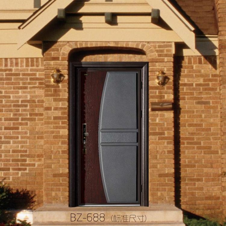 简约时尚别墅入户门贝尔卡洛入户门意式铸铝门0.8cm厚实心铝板 上海包安装 上门测量入户门 上海市贝尔卡洛总经销