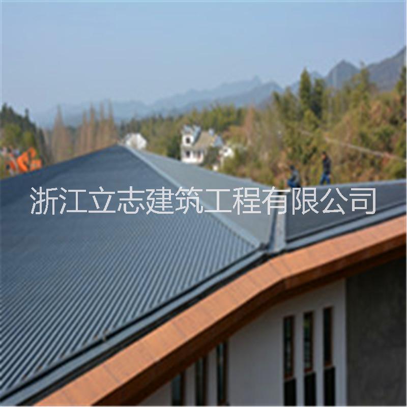 0.8mm铝镁锰屋面板 25-330立边咬合 铝镁锰矮立边屋面板25系列