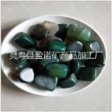 水晶石供应天然绿玛瑙水晶石 鱼缸装饰