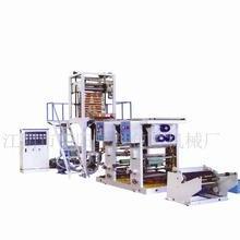 螺杆塑料吹膜机 本厂专业生产 吹膜印刷机(柔版)柔版印刷机图片