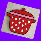 厨房用品 环保滴胶餐垫锅垫 pvc立体软胶杯垫