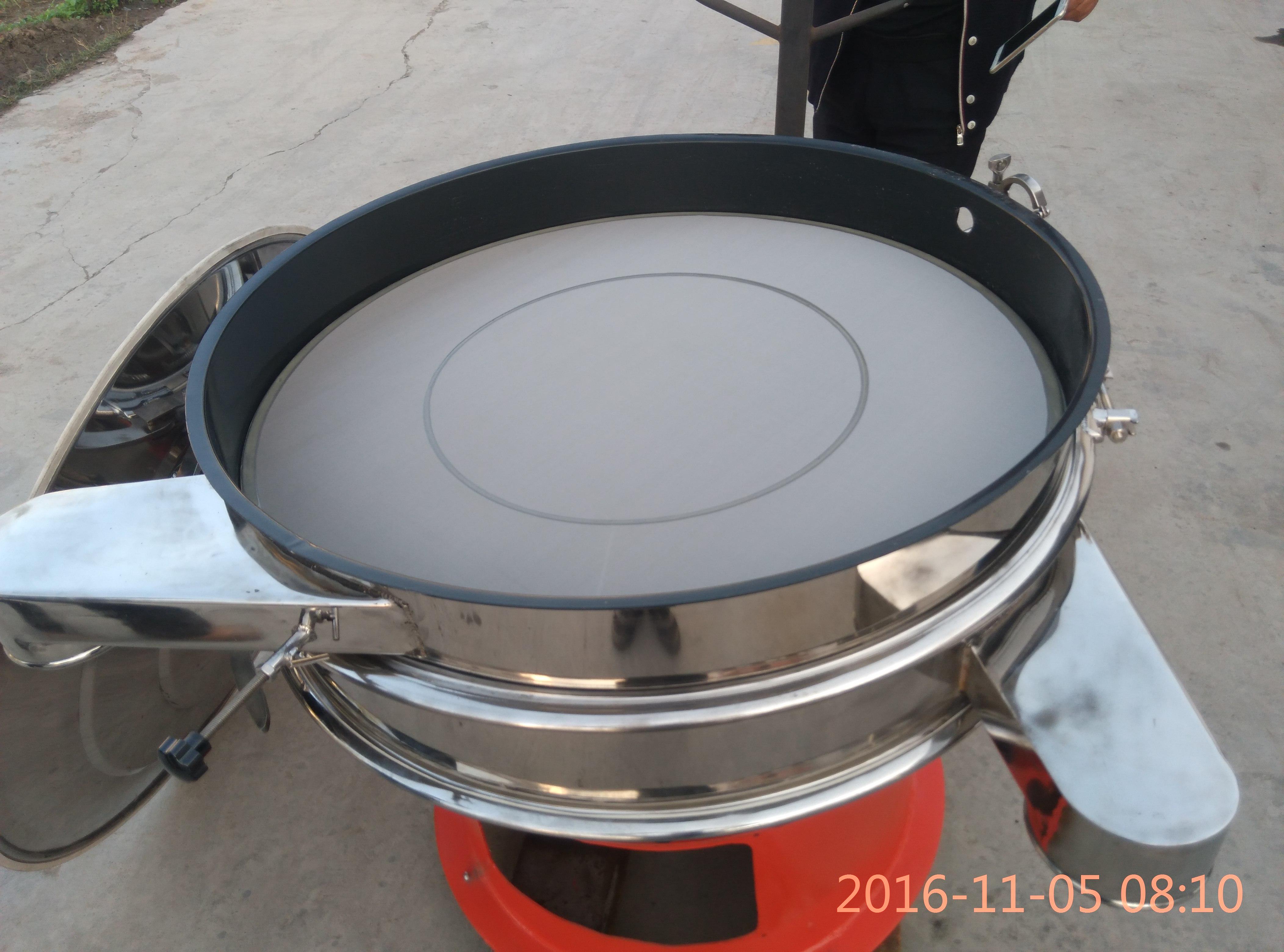 外置超声波振动筛锂电三元材料专用内壁喷涂特氟龙涂层