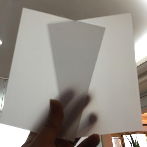 ps磨砂散光板吊顶匀光板灯罩 白色透光板扩散板亚 克力灯光片可零切