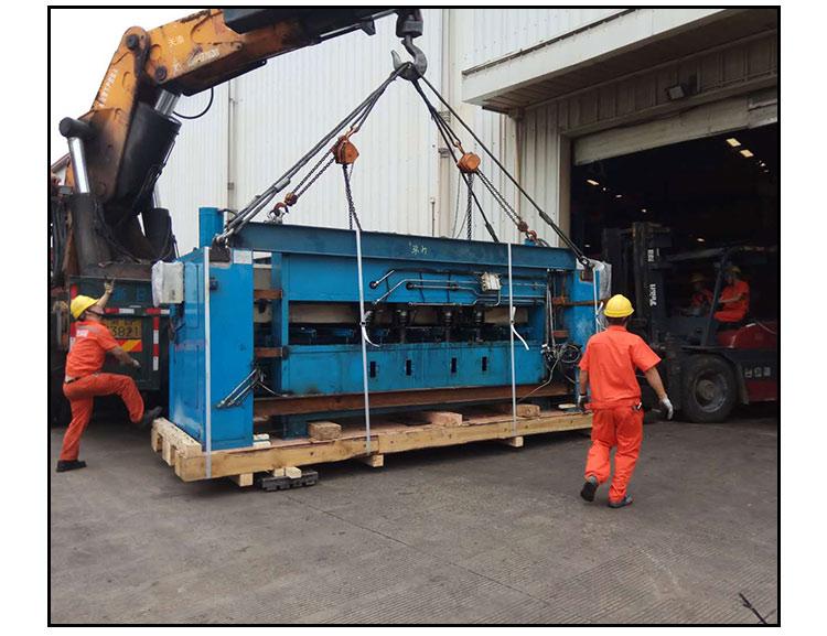 供应台州宁海整体工厂搬迁机器吊装移位公司注塑机油压机安装服务